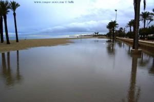 Badesee am Playa las Salinas – Spain