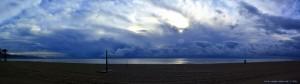 Querformat-Panorama-Bild - Playa las Salinas – Spain