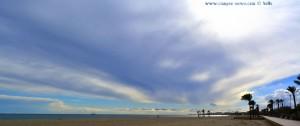 Schönes Segelboot am Playa las Salinas – Spain