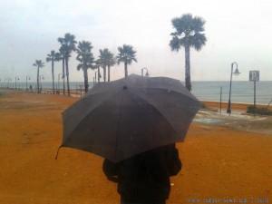My View today - RAIN - Adra - Spain