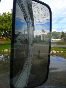 My View today - RAIN - Puerto Motril - Spain