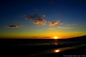 Sunset at Playa el Playazo – Spain → 18mm