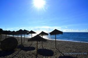 My View today - Playa El Chucho - Nerja – Spain