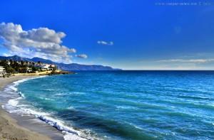 Playa El Chucho? - Nein es ist Playa la Torrecilla (weiss ich später dann!) - Nerja – Spain - HDR [High Dynamic Range]