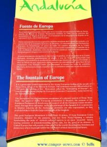 Fuente de Europa - Nerja – Spain