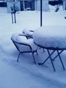 Schnee im Deggenhausertal - Deutschland - Dezember 2012