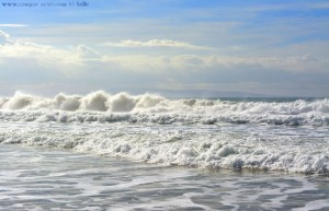 Big Waves at Playa de los Lances Norte - Tarifa – Spain