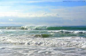 Big Waves at Playa de los Lances Norte - Tarifa - Spain