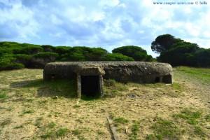 Alter Bunker am Playa de los Lances Norte - Tarifa – Spain