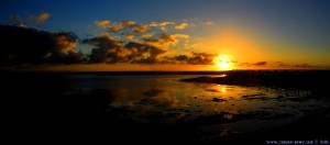 Sunset at Playa de los Lances Norte - Tarifa – Spain → 18mm → 17:54:45 → Horizontal-Panorama-Bild