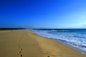 Deine Spuren im Sand... Playa de los Lances Norte - Tarifa - Spain