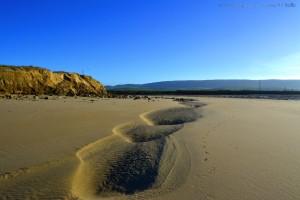 Muster im Sand - am Playa de Barbate – Spain