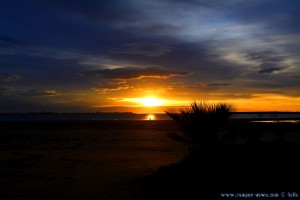 Sunset at Playa Valdelagrana – Spain - 26mm