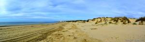 My View today - Dunas de El Portil – Spain → Panorama-Bild erstellt mit Image Composite Editor