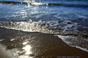 Leise plätschern die Wellen am Playa Dunas de El Portil - Spain