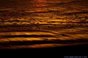 Sunset at Dunas de El Portil – Spain – glühende Lava?