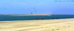 Mit dem Wind kommen die Kiter - Dunas de El Portil – Spain
