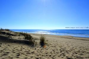 Der Flut zuschauen - Dunas de El Portil – Spain