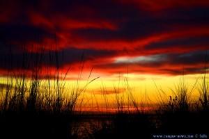 Sunset at Playa de El Portil – Spain