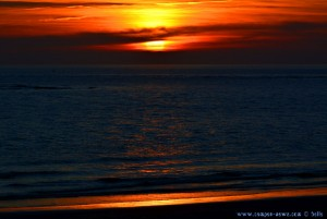 Sunset at Playa de El Portil – Spain