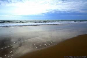Die Wolken spiegeln sich im Meer! - Playa de de El Portil – Spain