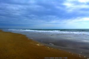 Wolken - aber kein REGEN! - Playa de de El Portil - Spain