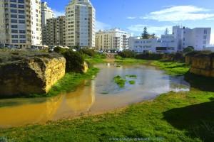 Unser persönlicher Badesee von der anderen Seite - Armação de Pêra – Portugal