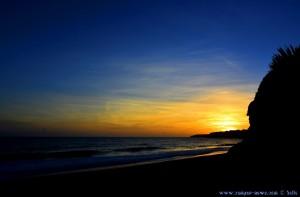 Sunset at Praia do Vale do Olival - Armação de Pêra – Portugal