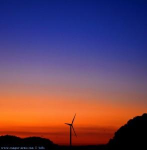 Sunset in Barão de São João – Portugal