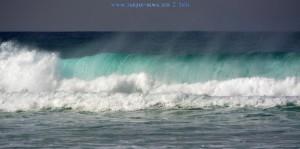 Big Waves at Praia da Cordoama - Portugal