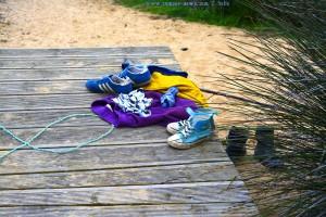 Verlassene Kleidung am Praia da Bordeira – Portugal