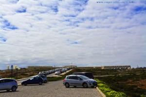 Parking at the Fortaleza - Ponta de Sagres – Portugal