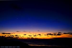 Die letzten Reste vom Sonnenuntergang - Praia de Odeceixe - Portugal