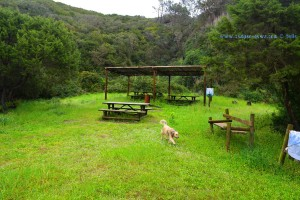 Little Picknick-Area at Praia das Furnas – Portugal