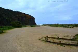 Parking for Camper at Praia das Furnas - Portugal