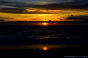 Sunset at Praia das Furnas – Portugal