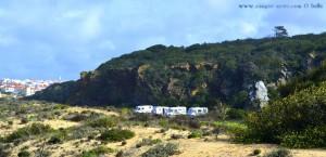 Parking at Praia das Furnas - Unnamed Road - Vila Nova de Milfontes – Portugal – March 2017