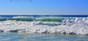 Waves at Praia da Costa de Santo André - Portugal