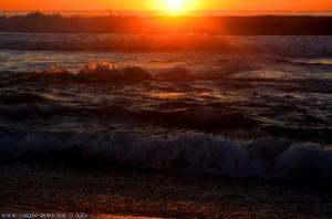 Sunset at Praia da Costa de Santo André – Portugal