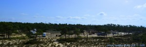 Parking at Praia da Comporta - N253-1, Portugal – March 2017