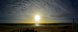 Die Luft ist gelb vom Sand, der in der Luft hängt – Praia da Comporta - Portugal