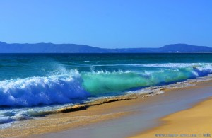 Waves at Praia da Comporta and View to Tróia – Portugal