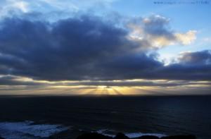 Ein bisschen Sonnenuntergang - Largo da Praia da Aguda – Spain