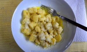 Gnocchi mit Gorgonzola und Parmesan
