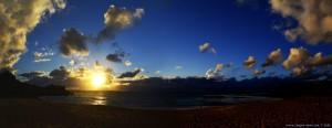 Sunset at Praia de São Lourenço – Portugal