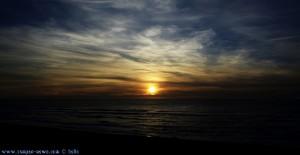 Sunset at Praia das Pedras Negras – Portugal