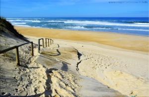 Steg zum Strand - Praia das Pedras Negras - Portugal