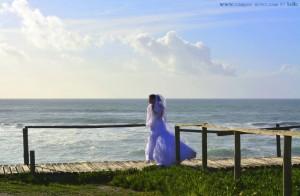 Braut am Praia das Pedras Negras – Portugal
