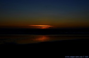 Sunset in Costa de Lavos – Portugal