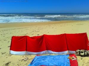 Mein Platz wartet schon - Praia da Murtinheira – Portugal